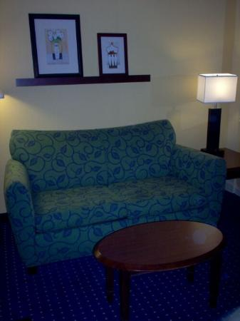 SpringHill Suites Savannah Midtown: Sitting area