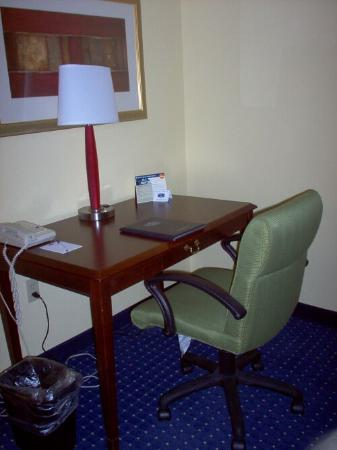 SpringHill Suites Savannah Midtown: Desk area