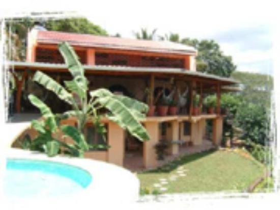 Villa Mango: The house and its terrace