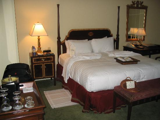 Bedroom After Nightly Turn Down Service Picture Of Hermitage Hotel Nashville Tripadvisor