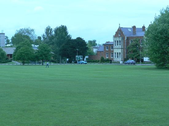 Reading, UK: Sport ground of the University