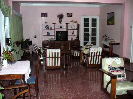 Hotel Villa Bella: Reading/TV room