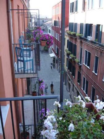 Alloggi Agli Artisti: Balcony view along the Calle