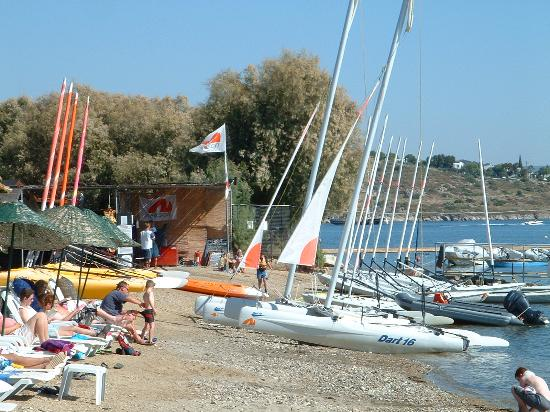 Bodrum Seaside Beach Club: the beach