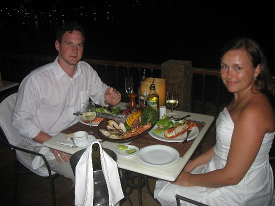 Casas Brancas Boutique Hotel & Spa: The famous seafood platter(recommend it)