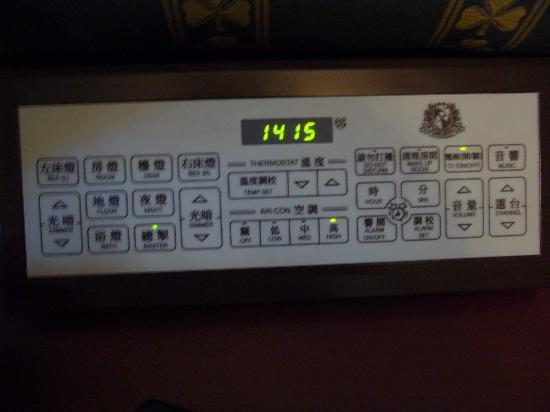 Shamrock Hotel: Control Panel!