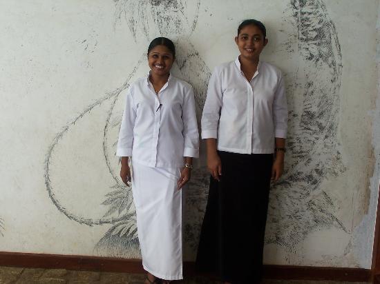 Heritance Ahungalla: Lovely Restaraunt Hostesses (Double Trouble)