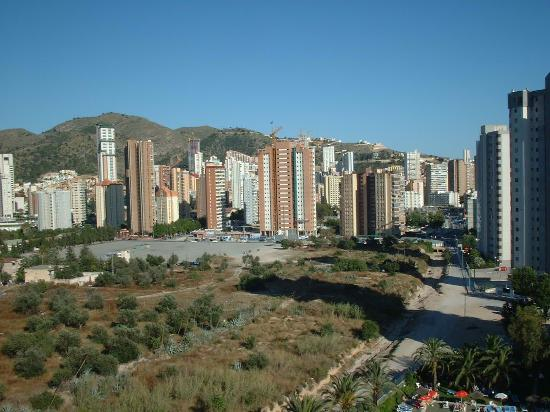 Paraiso Ten Apartments: View from floor 9