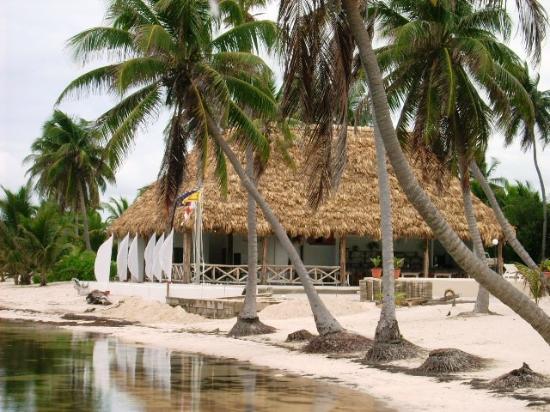 Royal Caribbean Resort: Das Strandrestaurant Außensicht