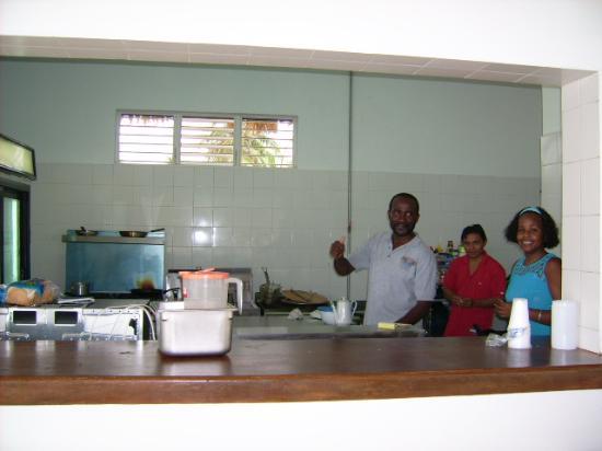Royal Caribbean Resort: Das Küchenpersonal