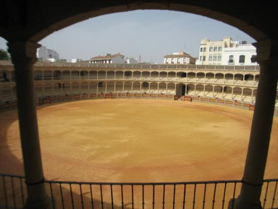 Plaza de Toros: View from the stands
