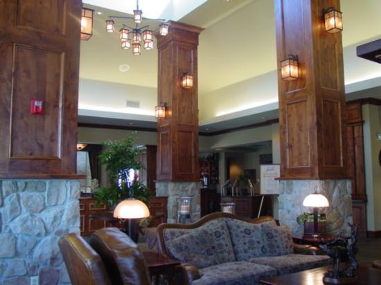 Eagle, ID: the hotel lobby