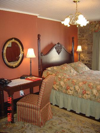 Hotel Le Clos St-Louis: Room #7 on the third floor