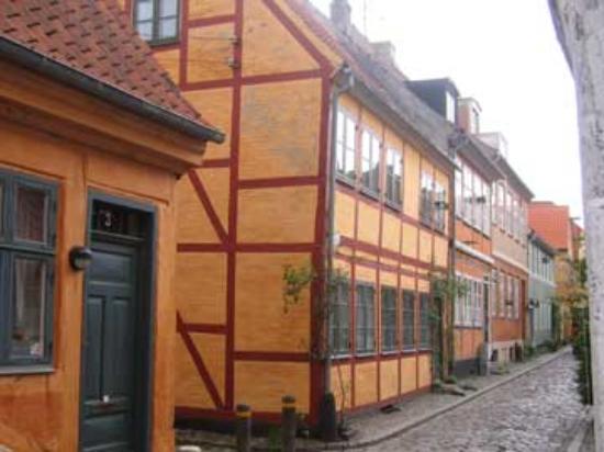 เฮลซิงบอร์ก, สวีเดน: Half-Timber House