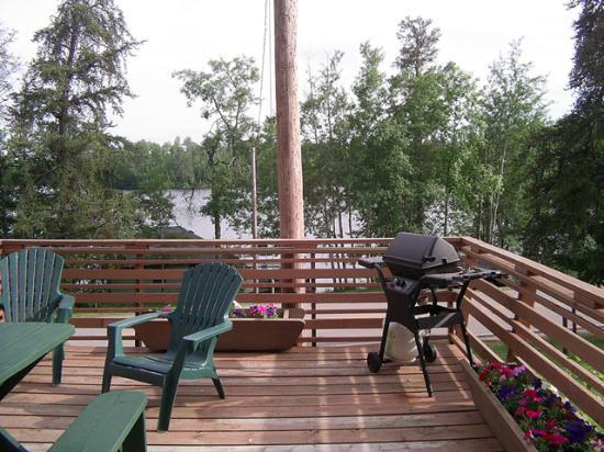 Lady Bug Lodge : deck