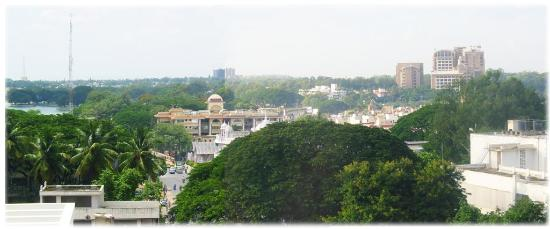 Vivanta by Taj - M G Road, Bangalore: View from 4th floor