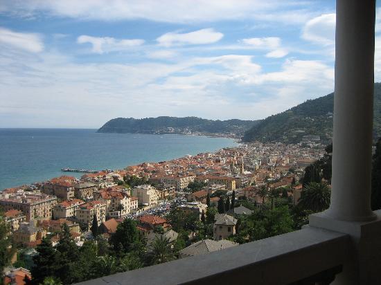 Villa della Pergola: Another view from the balcony.