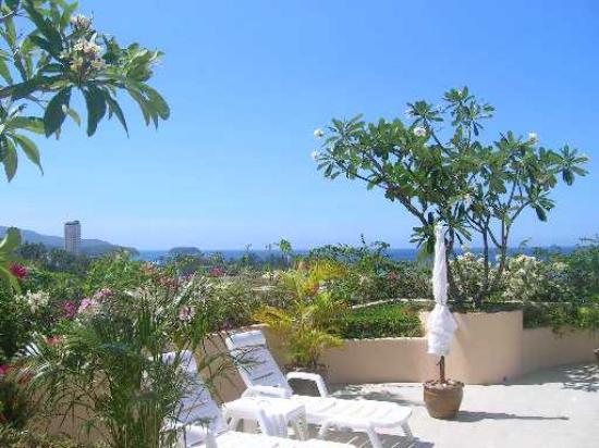 Pacific Club Resort: roof garden