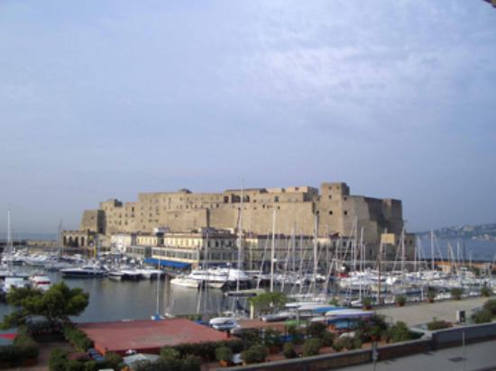 Eurostars Hotel Excelsior : view from room balcony-castel ovo