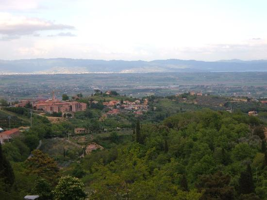 Agriturismo Le Macie: View from the farmhose