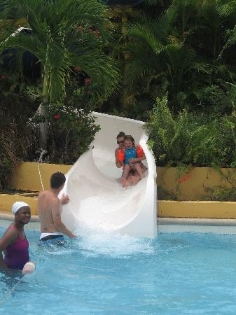 Beaches Ocho Rios Resort & Golf Club: the pool with the slides