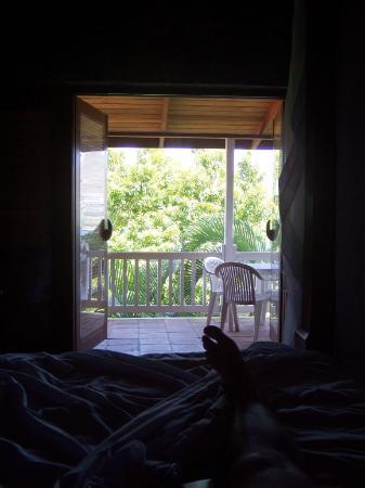 Frangipani Hotel: Waking up in the morning...