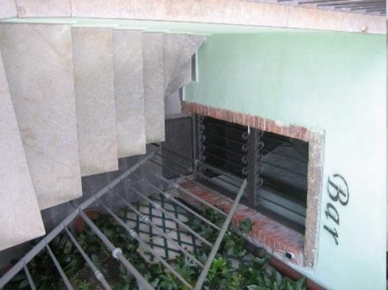 B&B and Apartments Da Baranin : More Stairs to rooms & breakfast area