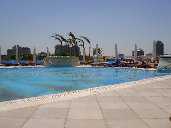 Grand Nile Tower: View of the pool.
