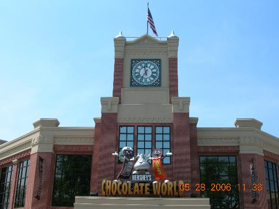 Hershey, Pennsylvania:: Entrance