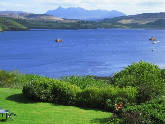 Cuillin Hills Hotel: View from our room