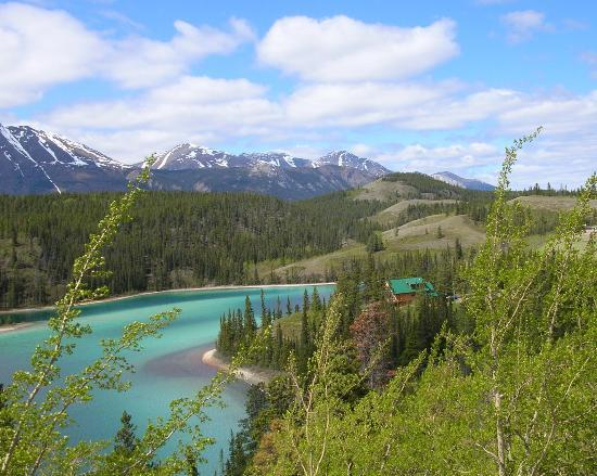 Skagway, AK: Emerald Lake near Carcross, Yukon