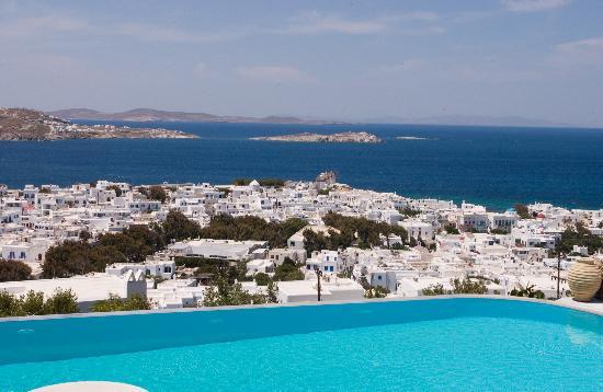 Vencia Hotel: excellent view