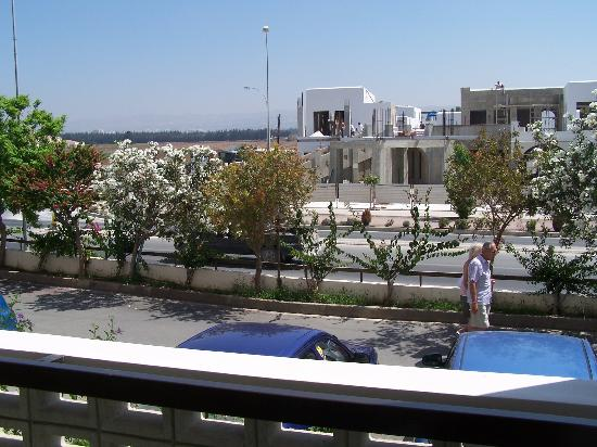 Constantinou Bros Athena Beach Hotel: View from room 145