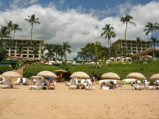 Four Seasons Resort Maui At Wailea From Beach