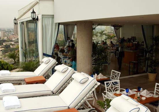 Belmond Miraflores Park: Rooftop Restaurant