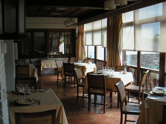 PARADOR DE MAZAGON: Part of the Dining Room