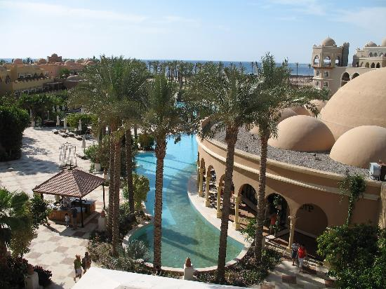 The Makadi Palace Hotel: View out to sea
