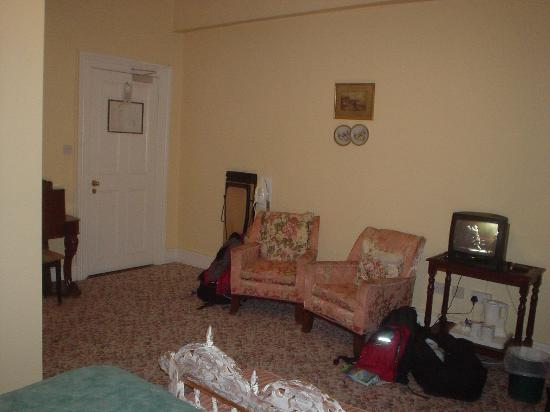 Ariel House : Larger room, from second stay