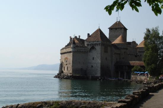 Montreux, Sveits: Castle Chillon