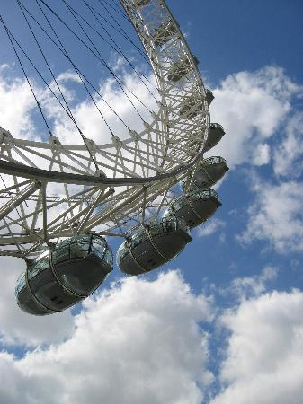 Londen, UK: London Eye, London