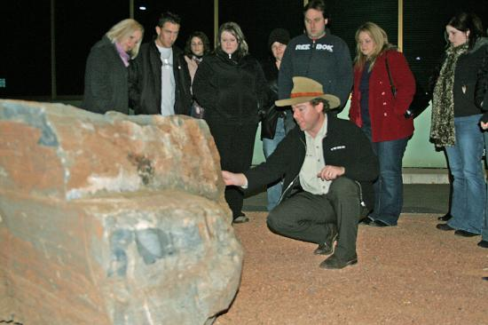 Weird Canberra Ghost and History Tour: Tim explains a mystery