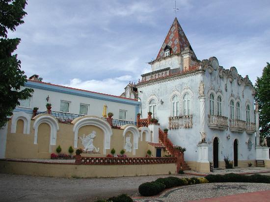 Pego, Portugal: The main building at Quinta de Coalhos