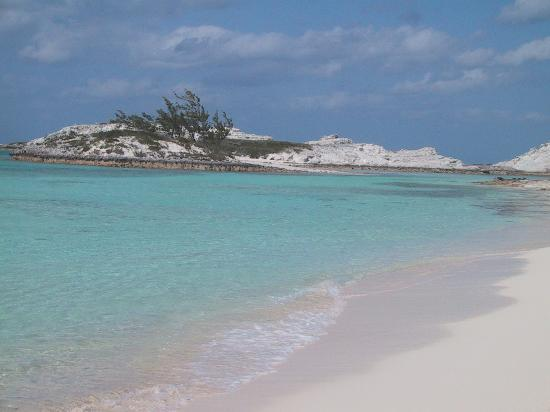 Staniel Cay: One of the Beaches on the Island