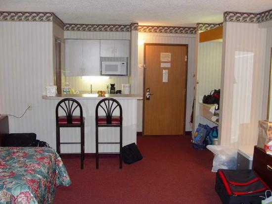 Comfort Inn : Large Room with microwave and fridge