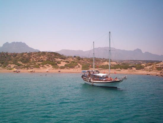 Kyrenia from the sea