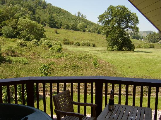 Wild Pheasant Hotel & Spa: view from your private balcony