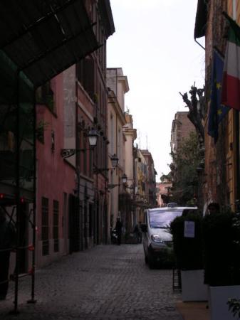 Hotel Manfredi Suite in Rome: Via Margutta