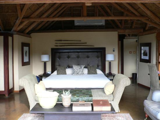 Kwandwe Private Game Reserve, South Africa: Our bedroom