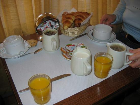 Grand Hotel de l'Europe: breakfast is perfect
