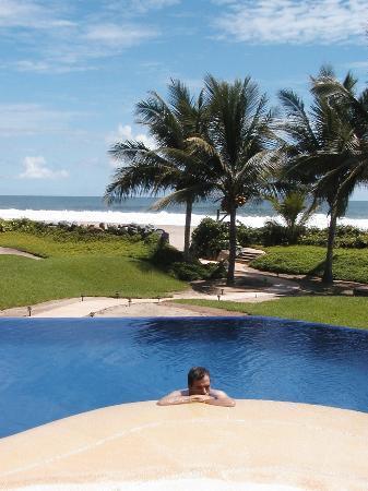 Las Palmas Beachfront Villas: It really was this good.